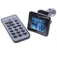 Bluetooth FM модулятор BT-891 (БОЛЬШОЙ дисплей/пульт/USB/SD/Line-in) Черный