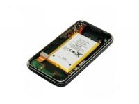 Корпус для iPhone 3G 16Gb  Оригинал (шлейфом наушников, шлейфом зарядки, аккумулятором) (черный)