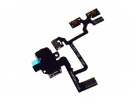 Шлейф/FLC iPhone 4 (светочувствительный элемент с микрофоном и кнопкой включения)