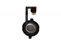Шлейф/FLC iPhone 4G (с кнопкой Home) черный