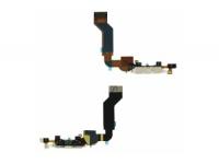 Шлейф/FLC iPhone 4S (с системным разъемом) черный