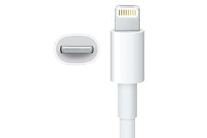 "LED USB Дата-кабель ""Lightning Dock"" для Apple 8 pin (белый/коробка)"