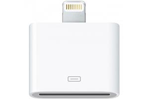 Переходник адаптер для Apple iPhone/iPad с 30 pin на 8 pin lighting (европакет)