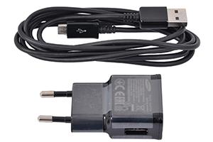 СЗУ 1 USB выход 1А + кабель micro USB (европакет) форма Samsung