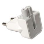 Переходник зарядки для iPad 2 под евровилку (белый/пакетик)