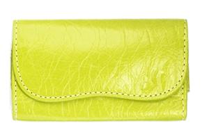 Сумка женская 10*5,5*1 с ремешком на руку СР115 D600 (зеленый)