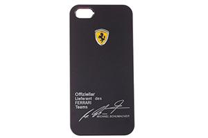 """Защитная крышка для iPhone 5/5s """"Ferrari"""" (черный/коробка)"""