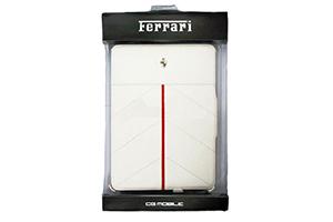 """Чехол/книжка для iPad 2/3/4 """"Ferrari"""" раскладной кожа (белый)"""