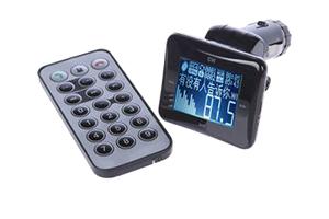 Bluetooth FM модулятор BT-892 (БОЛЬШОЙ дисплей/пульт/USB/SD/Line-in) Черный