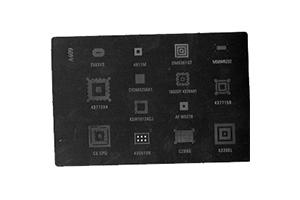 Набор трафаретов BGA для Nokia C5/C6/X2 (A409)