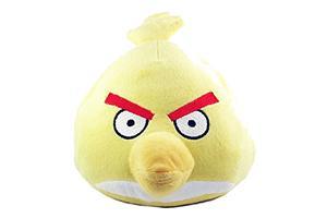 "Колонка ""Wrathful Birds Желтая Птица"" мягкая игрушка  (3,5 мм. питание от 2 х АА) (коробка)"