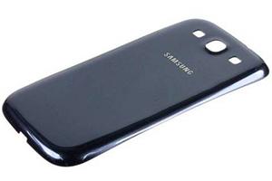 Задняя крышка для Samsung i9300 (синяя)