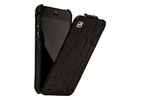 """Чехол для iPhone 5 """"HOCO"""" HI-L019 Knight leather case раскладной кожа"""