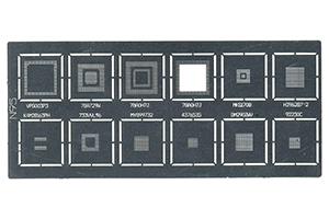 Набор трафаретов BGA для Nokia 6700 (A283)