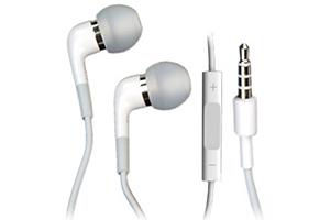 Наушники для iPhone/iPod (MA850G/A/В) вакуумные+запасные вкладыши (коробка)