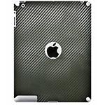 Наклейка для iPad 2 карбон 3D (чёрный)