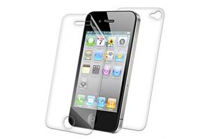 "Защитная пленка ""LP"" дляiPhone 5/5s (двойная/прозрачная) задняя крышка + тачскрин"