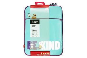 Чехол iLuv для iPad 2/3/4 и совместимые (ICP2013BBLU)