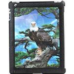 """Защитная крышка для iPad 2 """"3D орел"""" (пластик)"""