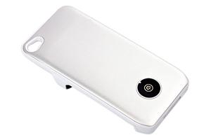 """Дополнительная АКБ защитная крышка для iPhone 4/4S """"N-Y-X"""" 1800mA (матовая белая)"""