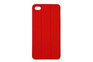 Задняя крышка-чехол Tidy Tilt для iPhone 4/4S (красный/блистер)