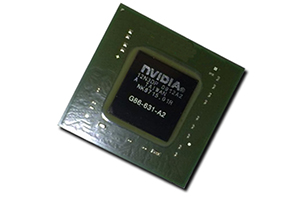 Микросхема nVidia GeForce G86-631-A2 (2010)