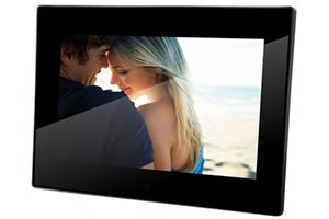 Цифровая фоторамка 10'' (800*480) (черный) 16:9/USB Flash/SD/Видео/Аудио/Пульт ДУ