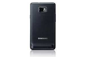 Задняя крышка для Samsung i9100 (черный)