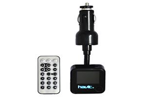 FM модулятор Havit HV-FM15 черный (коробка)