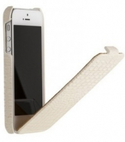 "Чехол для iPhone 5 ""BOROFONE"" BI-L019 Crocodile flip leather case раскладной кожа"