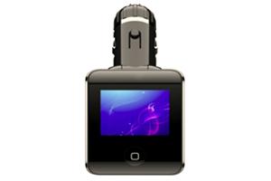 FM модулятор Havit HV-FM17 черный (коробка)