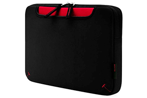 "Сумка Belkin 10.2"" Netbook Storage Sleeve, Black/Red (F8N185EA011)"