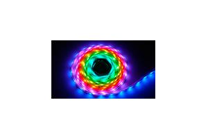 Светодиодная лента 5050/60 на метр/IP67S (Катушка 5м)