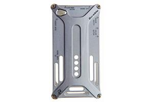 Bumper-case DURABLE для iPhone 4/4S металл (серый)