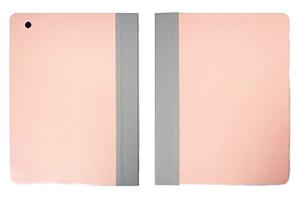 """Чехол для iPad 2/3/4 """"OZAKI"""" iCoat раскладной кожа (розовый/серый)"""