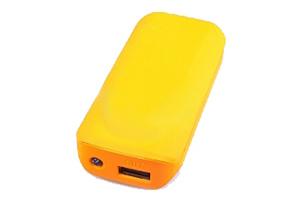 """Внешний АКБ """"MICHL"""" (1 USB выход 1А, 5600 мАч, оранжевая)"""
