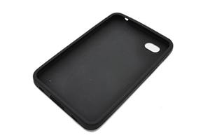 Силиконовый чехол для Samsung P1000 прозрачный (черный) (упаковка пакетик)