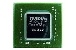 Микросхема nVidia GeForce G86-635-A2 (2010)