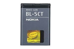 АКБ АЗИЯ Nokia BL-5CT (5220) Li860 с голограммой (блистер)