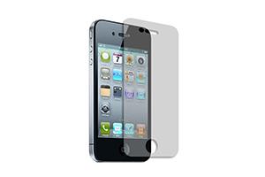 "Защитная пленка ""LP"" дляiPhone 4/4S (двойная/прозрачная) задняя крышка + тачскрин"