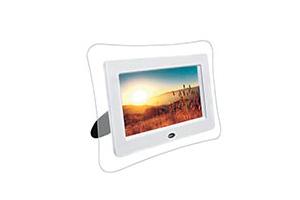 Цифровая фоторамка 7'' (480*234) (фигурная/белый)16:9/USB Flash/SD