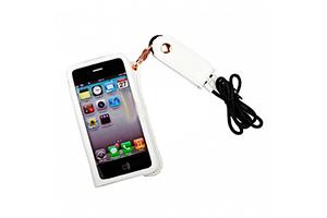 Чехол для iPhone 4/4S со шнурком на шею (белый)