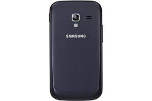 Задняя крышка для Samsung i8160 (черная)