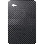 Наклейка для Samsung Galaxy Tab P1000 карбон 3D (чёрный)