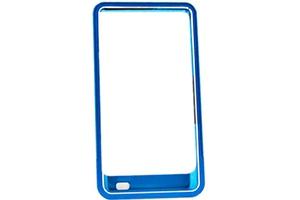 Bumper для Samsung i9100 Sweet Armor металл (синий)