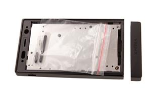 Корпус Sony Xperia U (черный/розовый) HIGH COPY