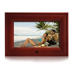 Цифровая фоторамка 7'' DPF-703A (480*234) (красное дерево)16:9/USB/SD/Аудио/Видео/Встроенная память
