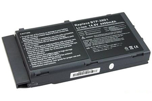 Аккумулятор ASX ACER 39D1 4400mAh 14.8V black