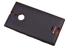 Силиконовый чехол для Nokia Lumia 1520 TPU Case (черный матовый)