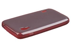 Силиконовый чехол для Nokia Lumia 620 TPU Case (черный матовый)